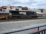 NS 9528 heads EB past the Amtrak Station